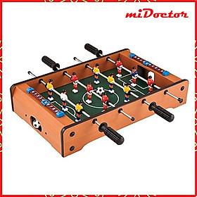 Đồ chơi bàn bi lắc bóng đá Table Top Foosball (Gỗ) - Bàn Bóng Đá Bi Lắc Trẻ Em Chính Hãng