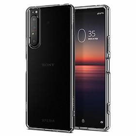 Ốp lưng cho Sony Xperia 1 Mark II Spigen Liquid Crystal - Hàng nhập khẩu