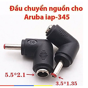Jack Chuyển đổi nguồn DC 5.5*2.1 sang 3.5*1.35 Aruba AP 345/335