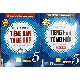 Combo Tiếng Hàn Tổng Hợp Dành Cho Người Việt Nam - Cao Cấp bản 4 màu (SGK + SBT)
