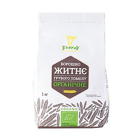 Bột mì hữu cơ Ecorod 1kg - Organic spelt, dark rye, whole wheat, all-purpose flour