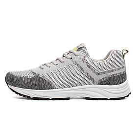 Giày thể thao chạy bộ, Tập Gym cao cấp SPV-BNA309 thoáng khí, siêu nhẹ, siêu bền màu xám phối phong cách, đủ size