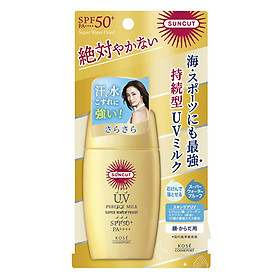 Chống nắng dạng sữa Kosé Cosmeport Suncut Milk Super Water Proof SPF50+/PA++++ 60g