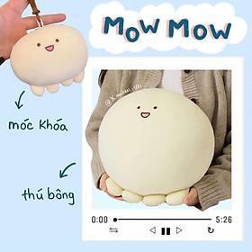 Thú nhồi bông MOW MOW mập trắng trẻo Hàn Quốc (Ảnh thật shop tự thực hiện)