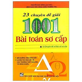 23 Chuyên Đề - 1001 Bài Toán Sơ Cấp