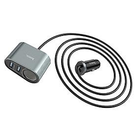 Tẩu sạc điện thoại trên xe hơi Z35A công suất 24W ( 2 màu) - Hàng chính hãng