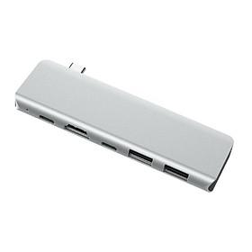 Fun 5-in-1 USB HUB Type-C to HDMI 2USB 3.0 PD Charging Type C Power Adapter Multi Ports Splitter Dock