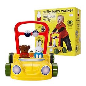 Xe bám tập đi chống trượt, hãm đà Miffy - Mastela- BW01 Đồ chơi vận động cho bé từ 9 tháng