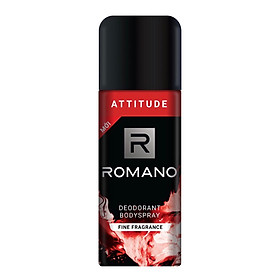 Xịt khử mùi toàn thân cho Nam Romano Attitude 150ml-Mẫu mới