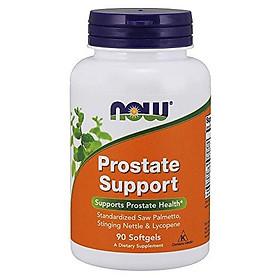 Viên Uống Hỗ Trợ Tuyến Tiền Liệt Now Prostate Support Từ Cây Cọ Lùn, Tầm Ma & Lycopene