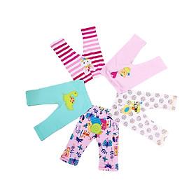 Set 5 Quần Dài Mông Thú Dành Cho Bé Gái Baby Wear ( Màu Ngẫu Nhiên )