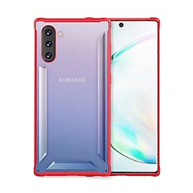 Ốp nhựa viền silicon chống sốc LIKGUS MOLA cho Samsung Note 10/ Note 10 Plus - Hàng chính hãng