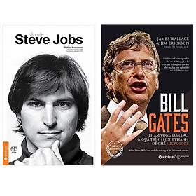 Combo Sách Doanh Nhân : Tiểu Sử Steve Jobs + Bill Gates - Tham Vọng Lớn Lao Và Quá Trình Hình Thành Đế Chế Microsoft