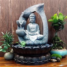 Thác Nước Phong Thủy Đức Phật Tổ Tịnh Thiền PTI19