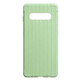 Ốp Lưng TPU Dẻo Vali Chất Sọc Dành Cho Samsung Galaxy S10 PLUS - Handtown - Hàng Chính Hãng