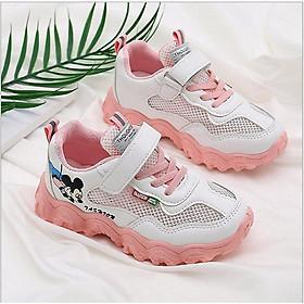giày thể thao bé gái êm chân size 30- 37 phong cách hè thoáng mát - TT60