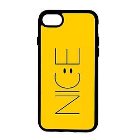 Ốp lưng dành cho Iphone 8 N.I.C.E Vàng - Hàng Chính Hãng