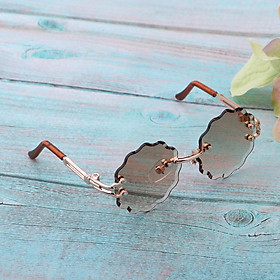 Stylish Metal Frame Glasses Eyewear Sunglasses For Blythe Fashion Doll Outfits