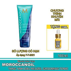 Dầu Gội Ánh Tím Sắc Tố Vàng Moroccanoil Blonde Perfecting Purple Shampoo Full Size - Chính hãng