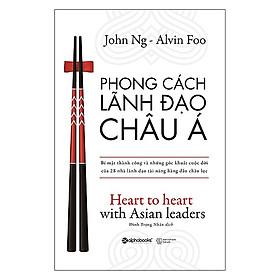 Phong Cách Lãnh Đạo Châu Á / Sách Tư Duy - Kỹ Năng Sống Hay (Tặng Kèm Bookmark Happy Life)