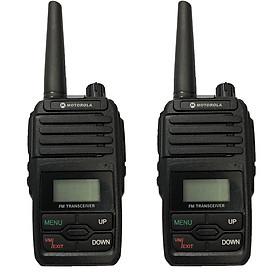 Bộ 2 bộ đàm Motorola GP6660 - Hàng Chính Hãng