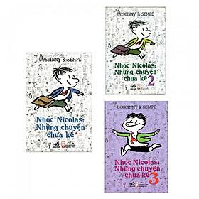 Combo Trọn Bộ 3 Tập Nhóc Nicolas: Những Chuyện Chưa Kể (Tặng Bookmark Thiết Kế)