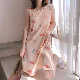 Váy ngủ nữ Ohazo! mùa hè cực Cute, Mềm mại, Thoáng mát - AG94 - XL