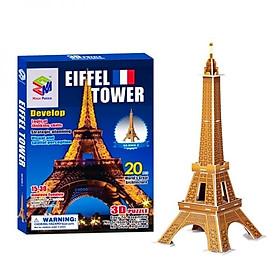 Mô Hình Giấy 3D Magic Puzzle: Tháp Eiffel B668-2 (20 Chi Tiết)