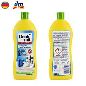 [Hàng Nhập khẩu Đức] Dung dịch khử cặn ấm nước, bình siêu tốc Entkalker 250ml