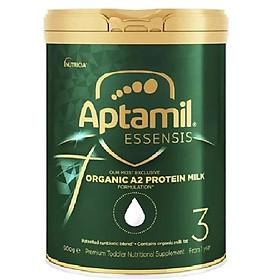 Sữa công thức hữu cơ APTAMIL ESSENIS ORGANIC A2 PROTEIN MILK PREMIUM TODDLER 900G (Số 3 cho bé từ 1 tuổi)