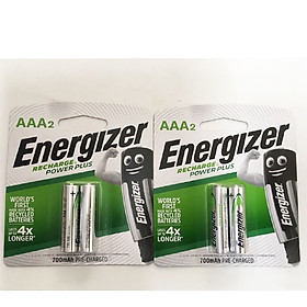 Pin Sạc Energizer AAA 700mAh Power Plus