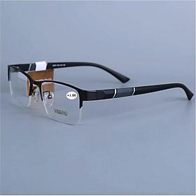 Kính viễn thị kính đọc sách kiểu dáng thể thao nửa viền nam tính mắt cực sáng KV667