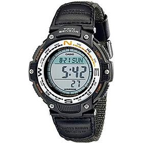Đồng hồ thể thao nam Casio Men SGW100B-3V cảm biến la bàn kỹ thuật số Nhập Khẩu Mỹ