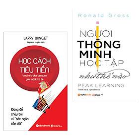 Combo Kỹ Năng Mềm Bổ Ích: Học Cách Tiêu Tiền + Người Thông Minh Học Tập Như Thế Nào? (Cẩm Nang Cần Có Cho Mọi Lứa Tuổi / Tặng Kèm Bookmark Happy Life)