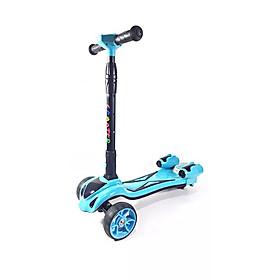 Xe điện cân bằng 3 bánh Homesheel Kid xanhh