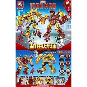 Lắp Ráp Xếp Hình Marvel Super Heroes Iron Man Đại Chiến Thanos 817 Khối TG71130 - Đồ Chơi Trẻ Em