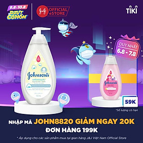 Sữa tắm gội toàn thân Johnson's Baby mềm mịn (500ml)