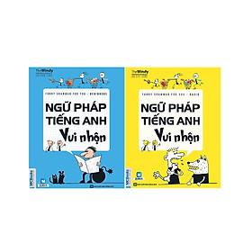Combo Học Ngữ Pháp Tiếng Anh Thật Dễ Dàng ( Ngữ Pháp Tiếng Anh Vui Nhộn - Beginners + Ngữ Pháp Tiếng Anh Vui Nhộn - Basic ) + Tặng sách hướng dẫn cách học tiếng Anh cho học sinh Trung học