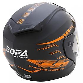Mũ Bảo Hiểm BOPA 46 Bò Cạp