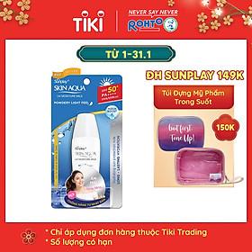 Sữa Chống Nắng Hằng Ngày Dưỡng Da Giữ Ẩm Sunplay Skin Aqua UV Moisture SPF50+ PA+++ (30g)