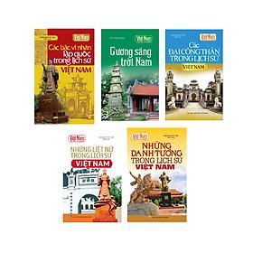 Combo Tủ sách Kể chuyện lịch sử Việt Nam 2 - Truyện kể về các công thần Việt Nam