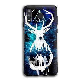 Ốp lưng Harry Potter cho điện thoại Samsung Galaxy A8 Star - Viền TPU dẻo - 02020 7769 HP01 - Hàng Chính Hãng