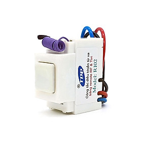 Bộ 5 công tắc điều khiển từ xa IR + RF lắp mặt panasonic TPE RI02