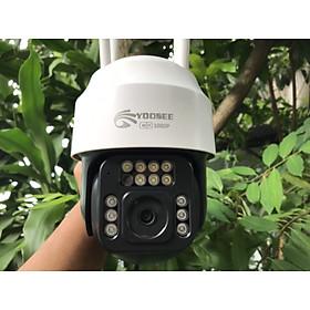 Camera Wifi Yoosee 4.0 Mpx Full HD, Dòng Ngoài Trời Xoay 360° 4 râu C12 Xem Đêm Có Màu-Đàm Thoại 2 Chiều-Phát Hiện Chuyển Động Chống Trộm-Hàng Nhập Khẩu