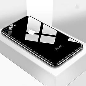 Ốp lưng kính cường lực dành cho Iphone 7 Plus và 8Plus hàng cao cấp chống trầy xước