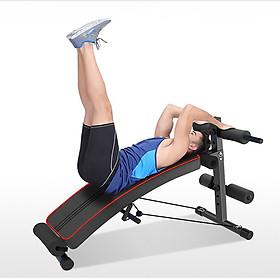 Máy cong tập gym đa năng - Ghế tập bụng 5 động tác giảm mỡ