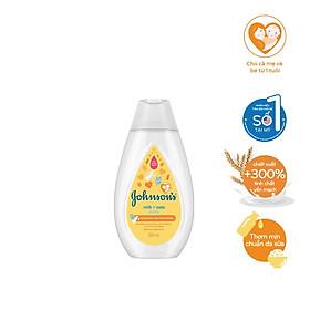 Sữa tắm Johnson's Baby chứa sữa và yến mạch (200ml)
