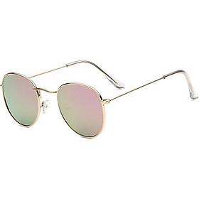 Vintage Round Sunglasses Women Points Sun Glasses Unisex Eyewear Sunscreen