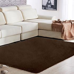 Thảm Lông Thú Giả Polyester Lót Sàn Nhà