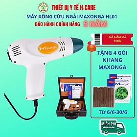 Máy xông ngải cứu Maxonga HL01, hơ điếu ngải theo phương pháp đông y cổ truyền giảm đau cơ xương khớp (chất lượng tương đương máy cứu ngải Khánh thiện, giá rẻ hơn) [TBYT HCare]